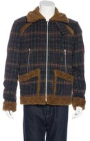 Dries Van Noten Plaid Wool-Blend Jacket