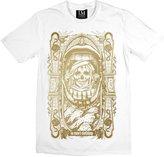 Altissimo Moda Size La Mort Clothing, Pestilence T Shirt Gold Print on
