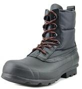 Hunter Originl Quilted Lace Up Short Men Us 9 Black Snow Boot.