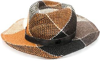 Maison Michel Grosgrain Trim Hat