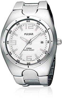Seiko Pulsar PXH591X Men's Watch with Stainless Steel Bracelet