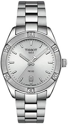 Tissot PR 100 Sport Chic - T1019101103100 (Silver) Watches