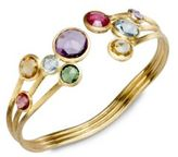 Marco Bicego Jaipur Semi-Precious Multi-Stone & 18K Yellow Gold Three-Row Cuff Bracelet