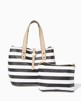 Charming charlie Striped Wallaby Joey Bag-in-Bag