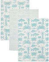 Marks and Spencer 3 Pack Seaside Print Tea Towel