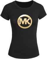 MICHAEL Michael Kors Michael Kors For 2016 Womens Printed Short Sleeve tops t shirts