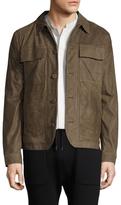 Helmut Lang Leather Patch Pocket Jacket