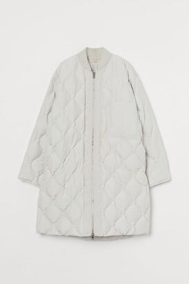 H&M Long down jacket