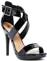 Michael Antonio Luckey Patent Heel Sandal