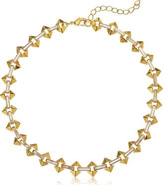 Noir Milky Moon Gold Choker Necklace