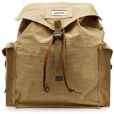 DSQUARED2 Backpack with Leather and Cotton