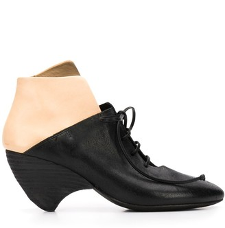 Marsèll Colour-Block Lace Up Boots