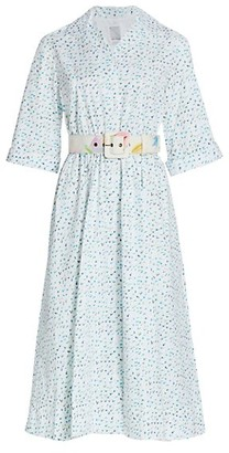 Rosie Assoulin Jane Printed Shirtdress