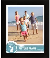 Craig Frames 1WB3BK 19 by 25-Inch Picture Frame, Smooth Wrap Finish, 1-Inch Wide, Black