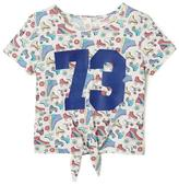 Cherokee Girls' Rollerblade Print Graphic T-Shirt
