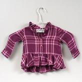 Cherokee Baby Plaid shirt