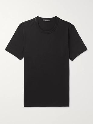 Dolce & Gabbana Slim-Fit Cotton-Jersey T-Shirt - Men