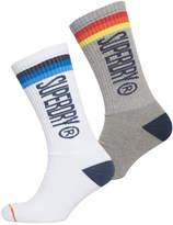 Superdry Surk Side Sock Double Pack
