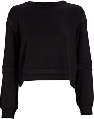 Lanston Overland Mesh-Trimmed Sweatshirt