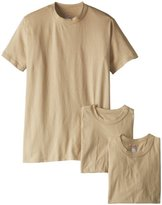 Soffe Men's Soft Spun Military 3-Pack T-Shirts