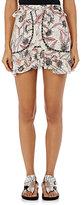 Isabel Marant Women's Ugi Embellished Cotton Voile Miniskirt