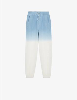 The Kooples Sport Tie-dye cotton-blend jogging bottoms