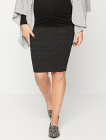 A Pea in the Pod David Lerner Secret Fit Belly Ruched Maternity Skirt