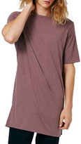Topman Long Line Crew Neck Tee