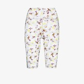 Thumbnail for your product : adidas by Stella McCartney TruePurpose Floral Print Cycling Shorts
