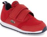 Lacoste 'L.ight' Sneaker (Baby, Walker & Toddler)