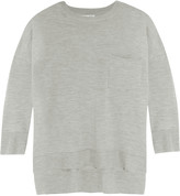 Frame Le Crew wool and cashmere-blend sweater