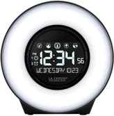 La Crosse Technology Lacrosse Technology LaCrosse Technology Color Mood Desk Clock with Soothing Sounds & USB Port