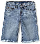 True Religion Big Boys 8-20 Geno Denim Shorts