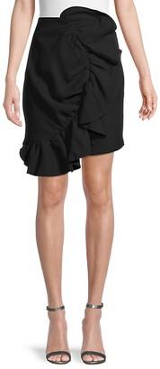 Endless Rose Flounce Ruffle Back Skirt