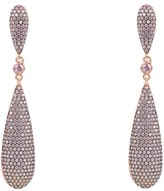 Latelita Coco Long Drop Earrings Light Pink