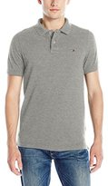 Tommy Hilfiger Men's Original Flag Short Sleeve Polo Shirt