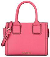 Karl Lagerfeld Mini Raspberry Tote Bag .