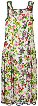 Molly Goddard Floral Print Dress