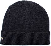 Lacoste Grey Marl Knitted Beanie
