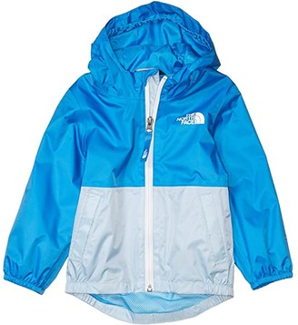 The North Face Kids Zipline Rain Jacket (Toddler) (TNF White Little Yose Print) Kid's Clothing