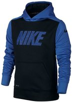 Nike Boy-18 Youth Therma-Fit Fleece Pullover Hoodie Athletic shirt