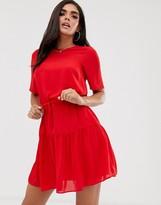 Asos Design DESIGN tiered mini dress