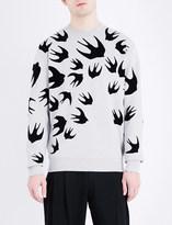 McQ by Alexander McQueen Swallow-print sweatshirt