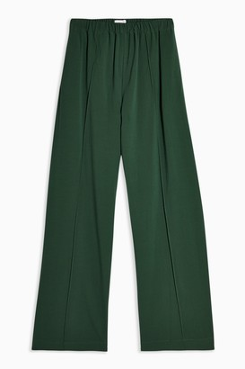 Topshop Womens **Green Joggers By Green