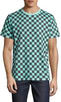 Paul Smith Men's Checkered Crewneck T-Shirt
