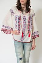 Kas Pisco Peasant Top