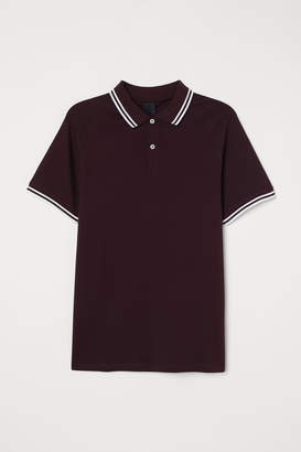 H&M Muscle Fit Polo Shirt