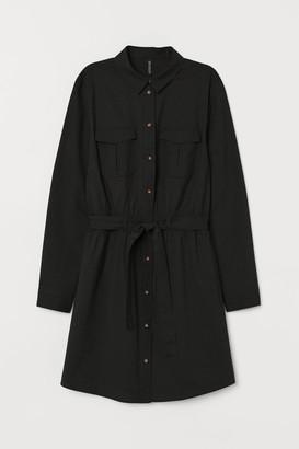 H&M Cotton utility dress