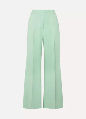 Derek Lam Crepe Wide-leg Pants - Green