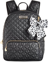 Betsey Johnson Large Bow Backpack